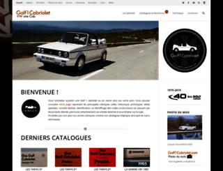 golf1cabriolet.com screenshot
