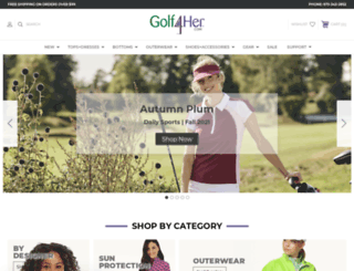 golf4her.com screenshot