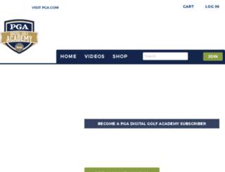 golfacademy.pga.com screenshot