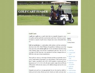 golfcartfinder.com screenshot