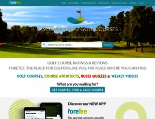 golfcourseranking.com screenshot