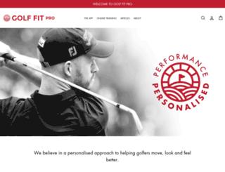 golffitproshop.com screenshot