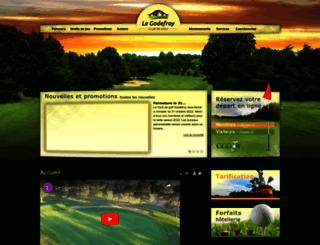 golfgodefroy.qc.ca screenshot