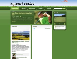 golfovezpravy.cz screenshot