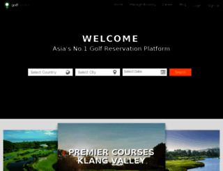 golfreserv.com screenshot