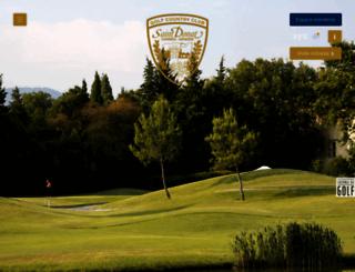 golfsaintdonat.com screenshot