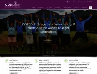 golfselect.com.au screenshot