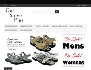 golfshoesplus.com screenshot