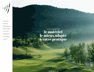 golfshop.fr screenshot