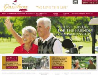 golfshore.com.au screenshot