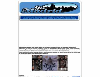 gomadrid.com screenshot