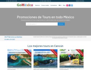 gomexico.travel screenshot
