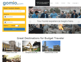 gomio.com screenshot