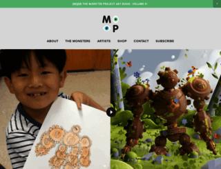 gomonsterproject.com screenshot