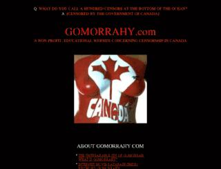 gomorrahy.com screenshot