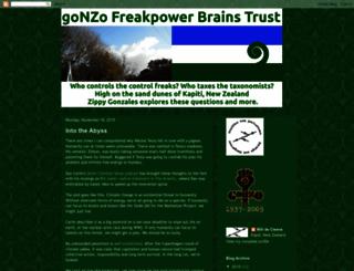 gonzofreakpower.blogspot.com screenshot