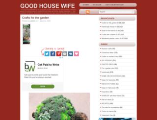good-housewife.com screenshot