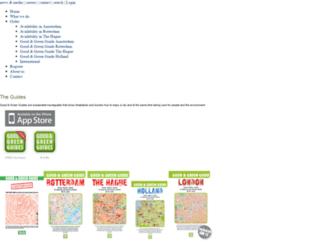 goodandgreenguides.com screenshot
