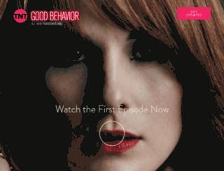 goodbehavior.tntdrama.com screenshot