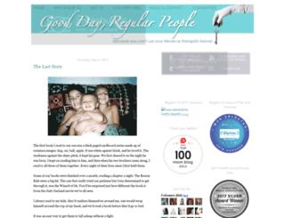 gooddayregularpeople.com screenshot