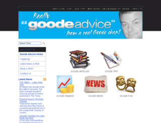 goodeadvice.com screenshot