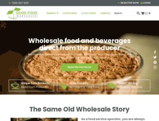 goodfoodwarehouse.com.au screenshot