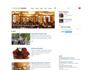 goodforlunch.com screenshot