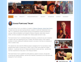 goodfortunetrust.org screenshot