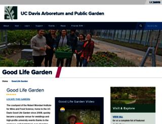 goodlifegarden.ucdavis.edu screenshot