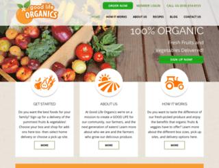 goodlifeorganics.org screenshot