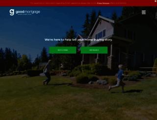 goodmortgage.com screenshot