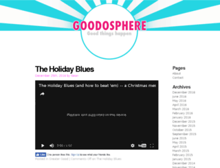 goodosphere.com screenshot