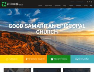 goodsamchurch.org screenshot
