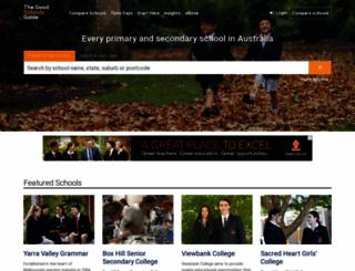 goodschools.com.au screenshot