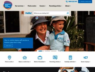 goodstart.org.au screenshot