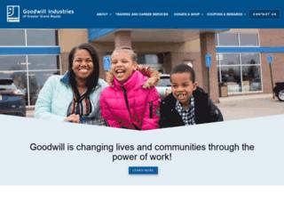 goodwillgr.org screenshot