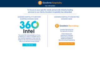 goodwinhospitality.com screenshot
