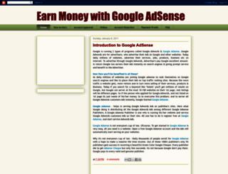 google-adsense-earn.blogspot.in screenshot