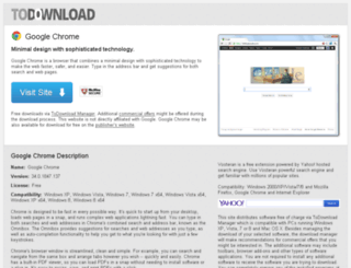 googlechrome.todownload.com screenshot