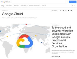 googlecloudplatform.blogspot.com screenshot