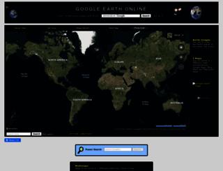 googleearthonline.blogspot.com screenshot