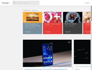 googleplus.com screenshot