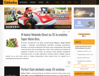 goomba.pl screenshot