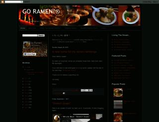 goramen.com screenshot
