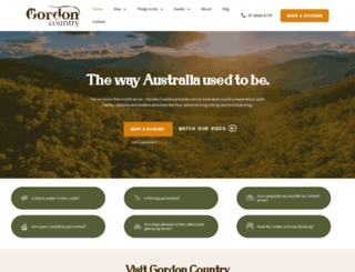 gordoncountry.com.au screenshot