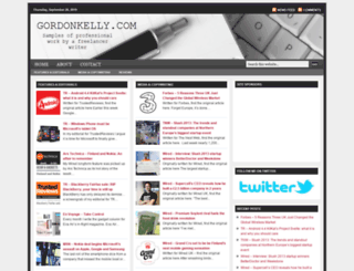 gordonkelly.com screenshot