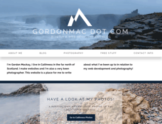 gordonmac.com screenshot