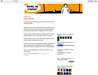 gordovaiabaliza.blogspot.com.br screenshot