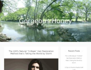 gorgeoushoney.com screenshot