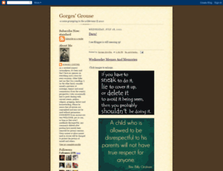 gorges-smythe.blogspot.com screenshot